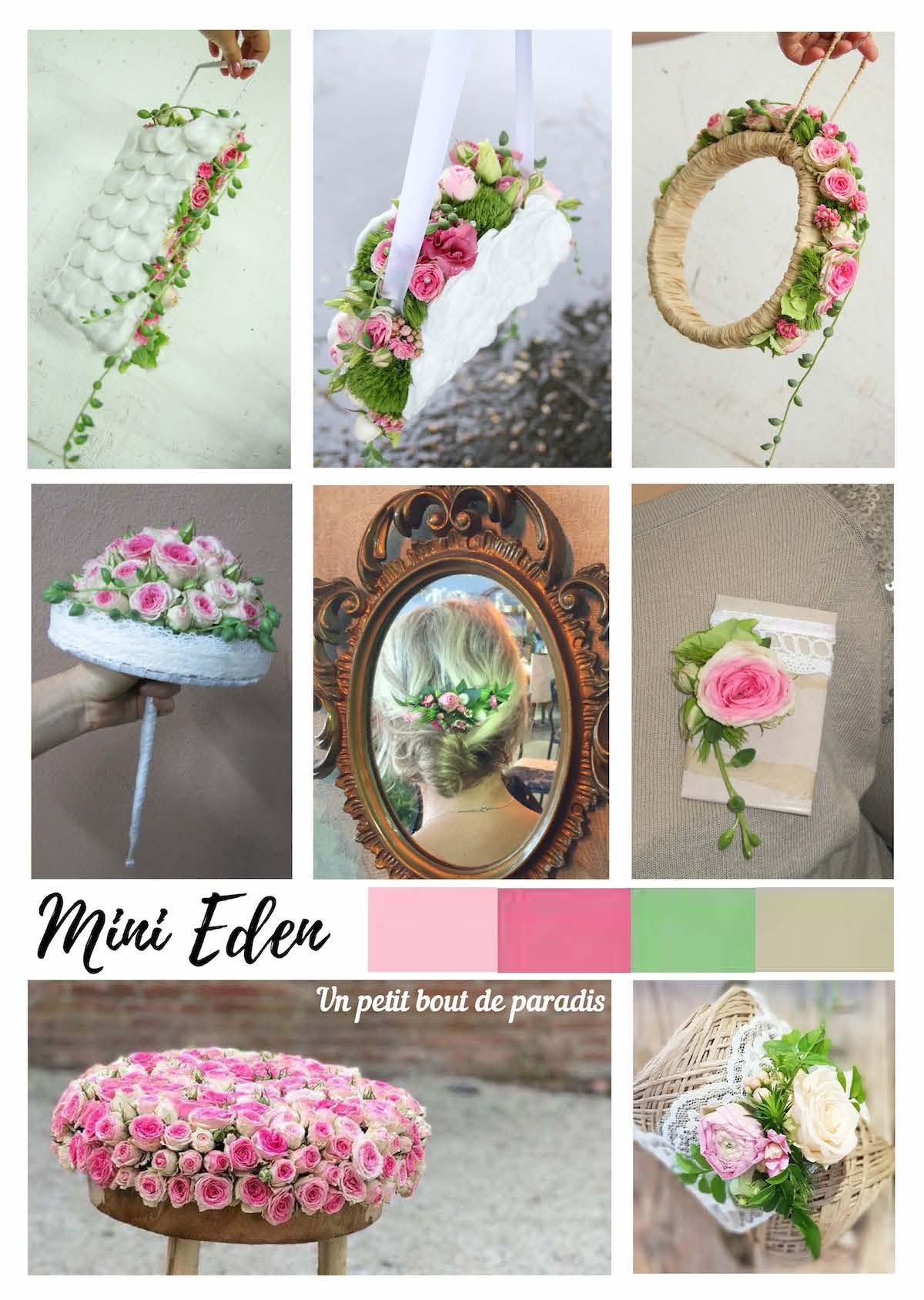 Mariage fleuri mini Eden