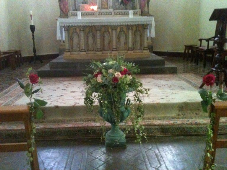 La décoration d'église, un parfum de Toscane