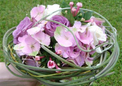 Le bouquet de la mariée, blue moon