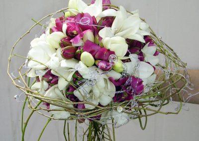 Le bouquet de la mariée, liane de glycine