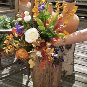 Bouquet fleur automnal Mademoiselle Brigitte