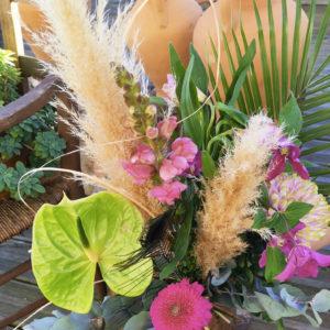 bouquet de fleurs Madame Louise
