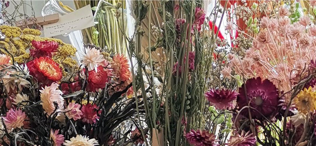 Adoptez les fleurs séchées en déco !