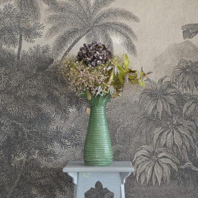 Vase palmier