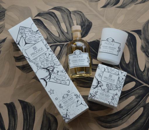 Bougie et diffuseur de parfum Accord Celeste