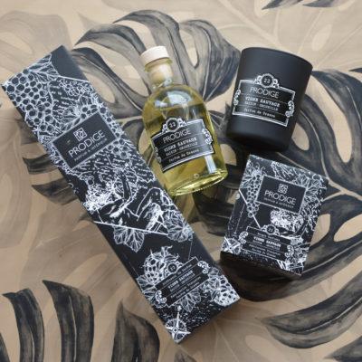 Bougie et diffuseur de parfum Vigne Sauvage