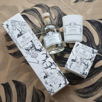 Bougie et diffuseur de parfum Mahatma